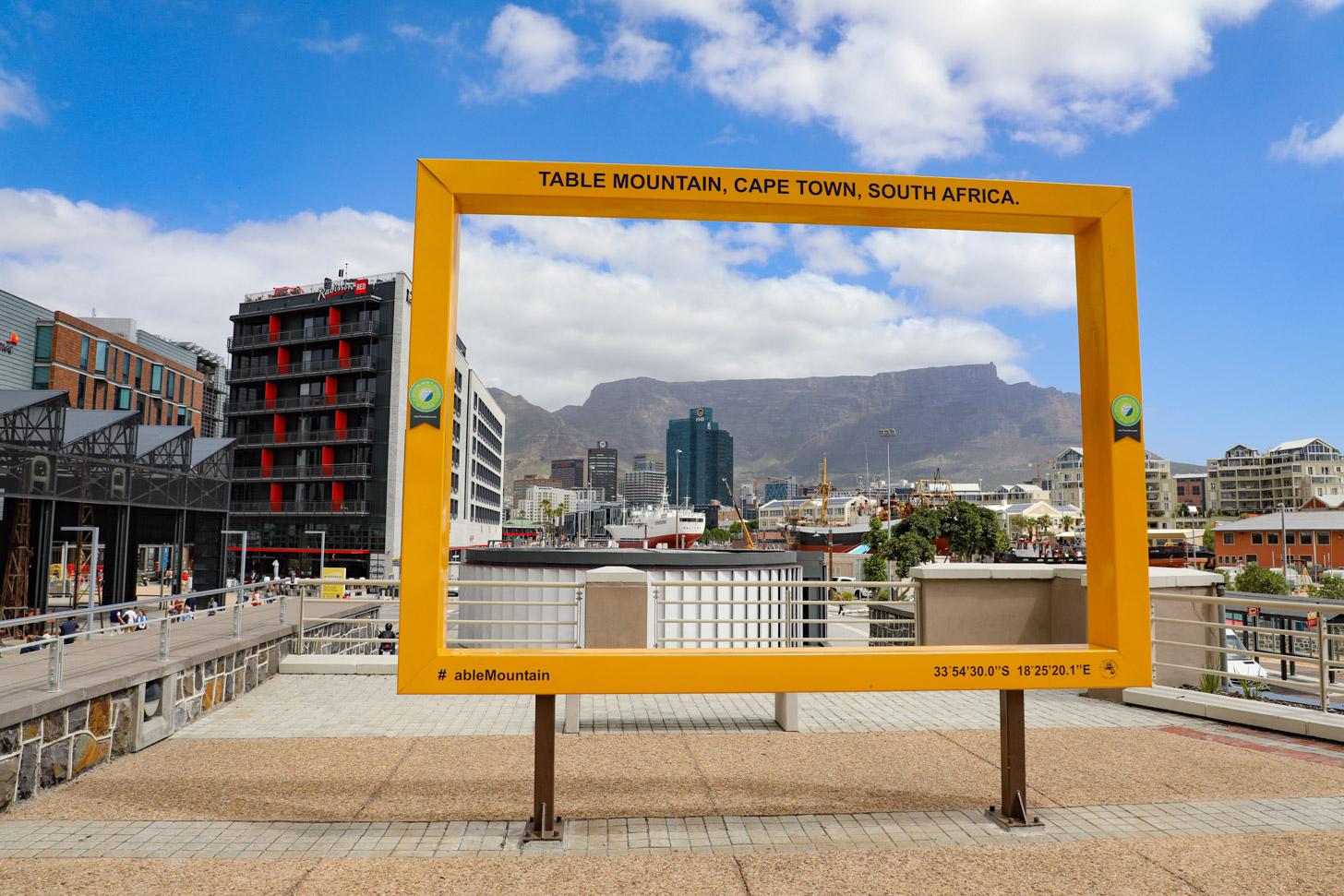 Uitzocht op de Tafelberg