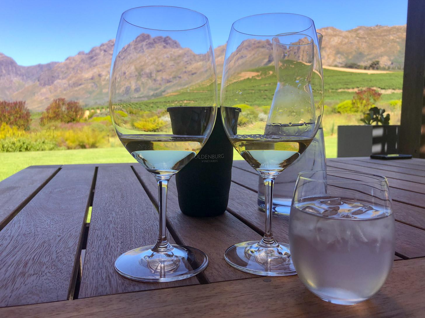 Heerlijk genieten tijdens de wijntour