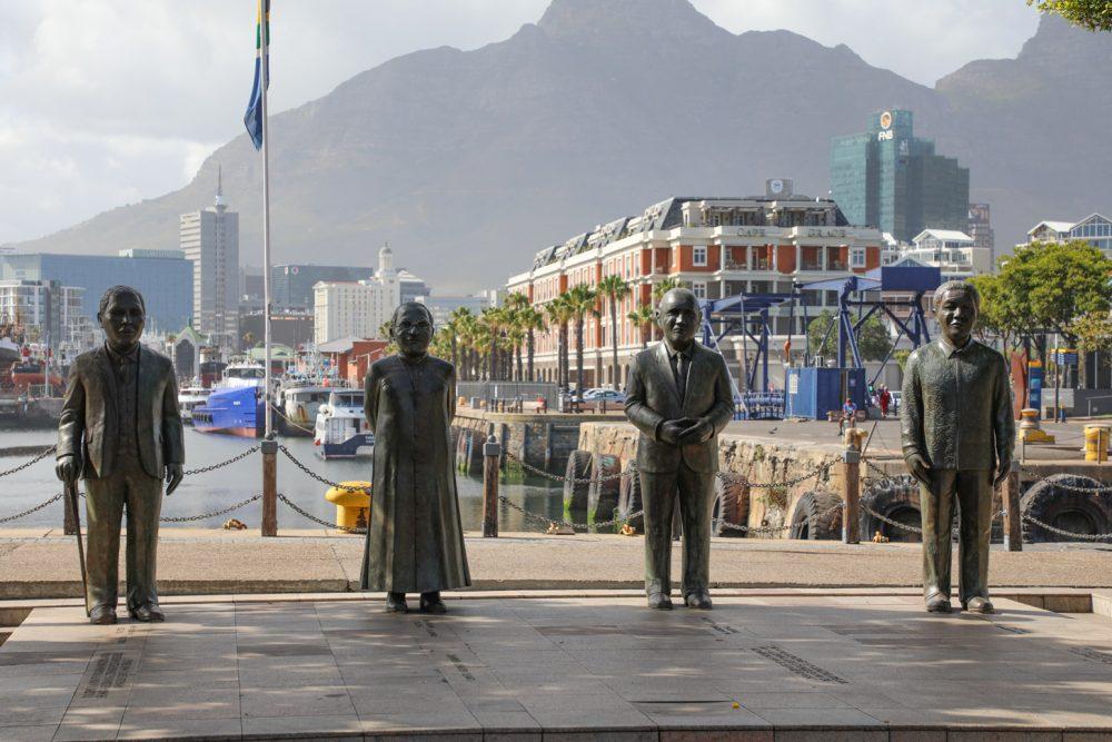 Vier belangrijke mensen in de geschiedenis van Kaapstad