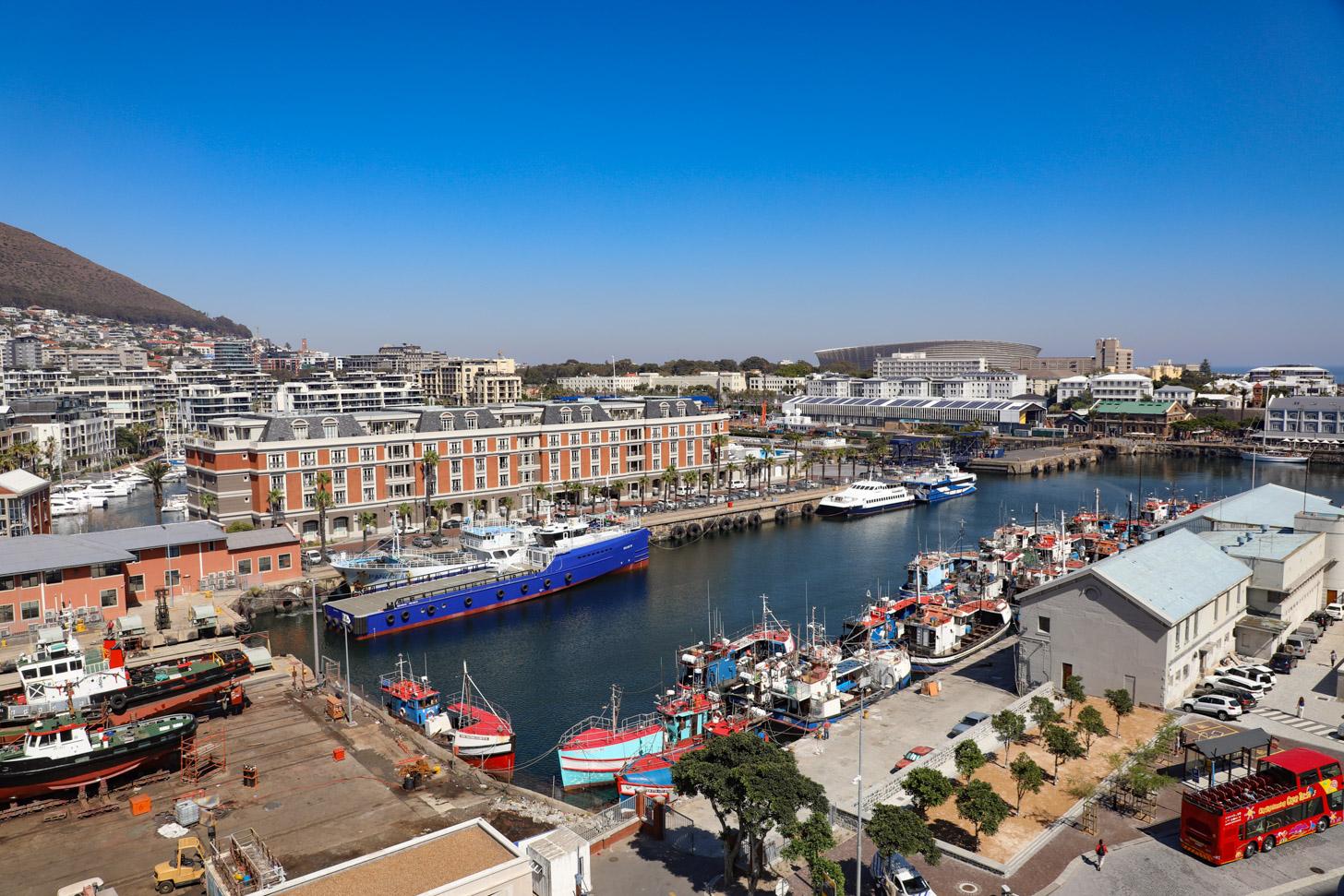 Het moderne Kaapstad