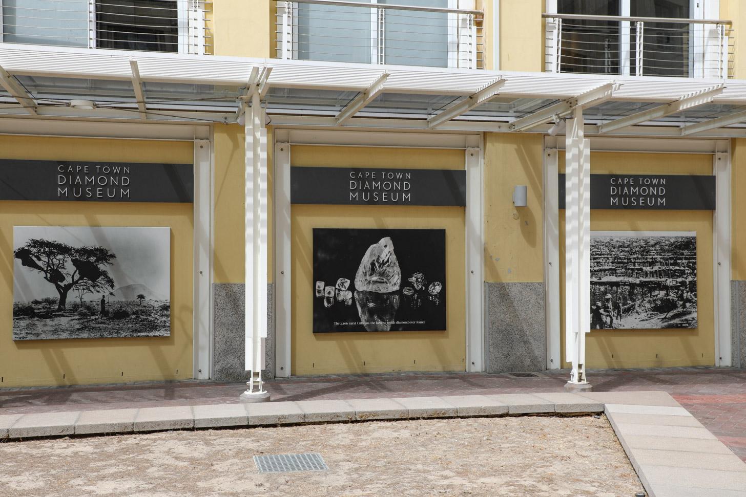 Diamantmuseum in Kaapstad