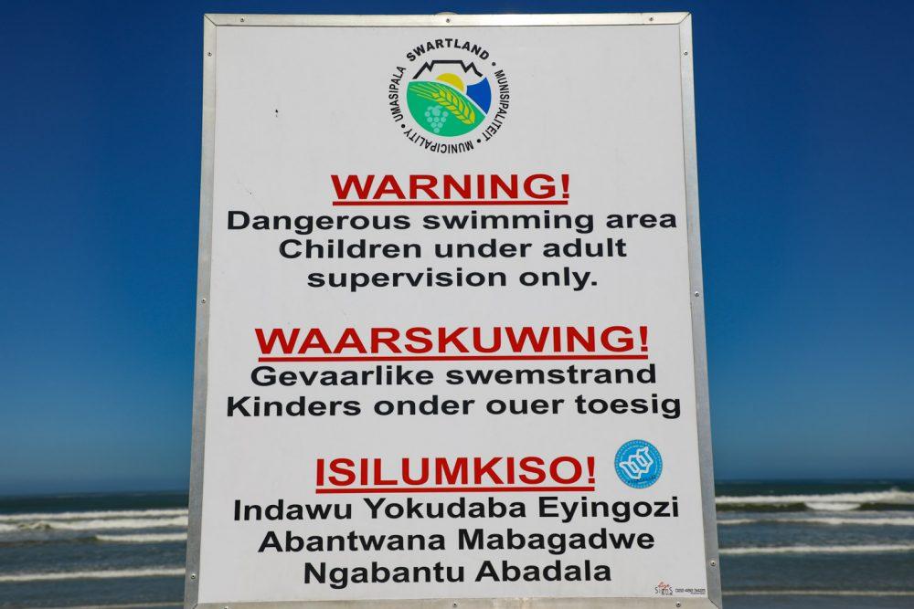 3 talen in Kaapstad