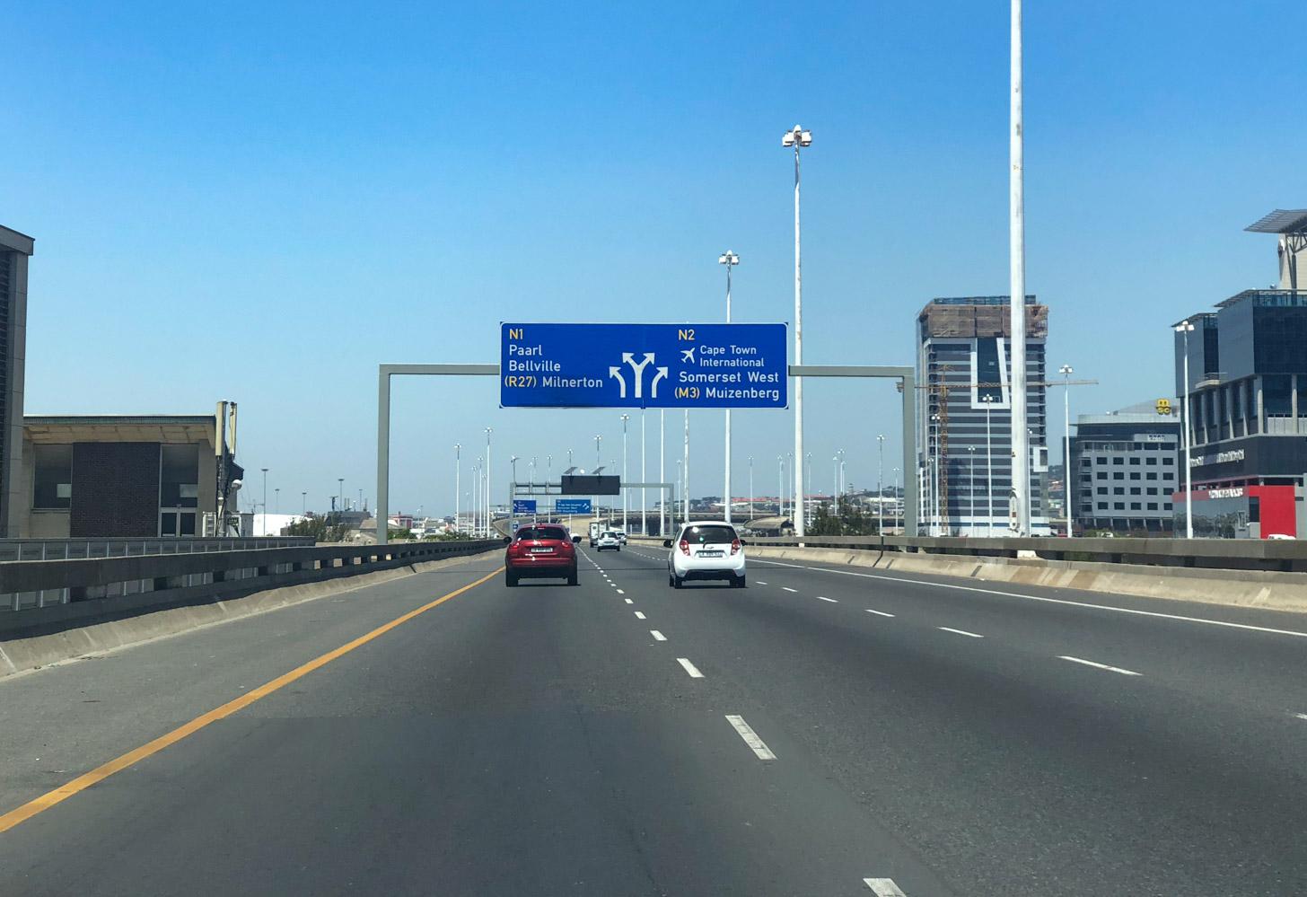 Autorijden in Kaapstad