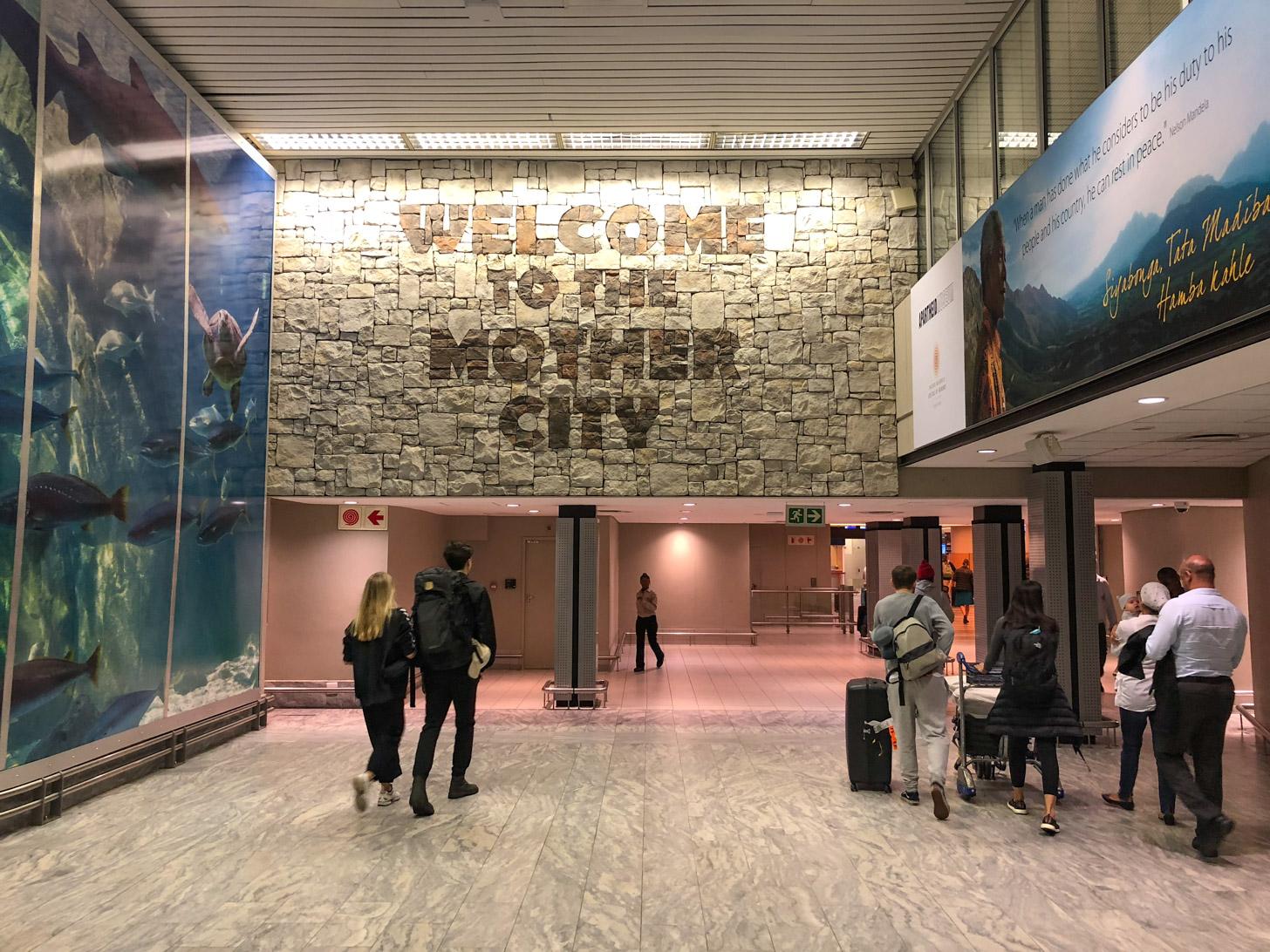 Welkom in Kaapstad - Cape Town Intl. Airport